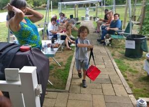 Even the kids had fun